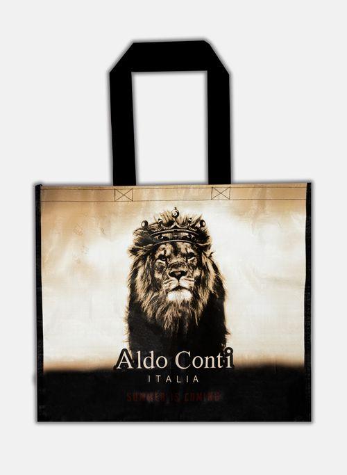 Bolsa Color Beige Aldo Conti Grande