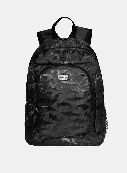 Back Pack Color Negro Vermonti