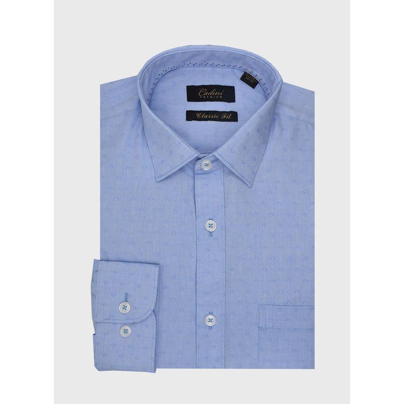 Camisa--Vestir-Color-Azul-Marca-Cadini-Premium