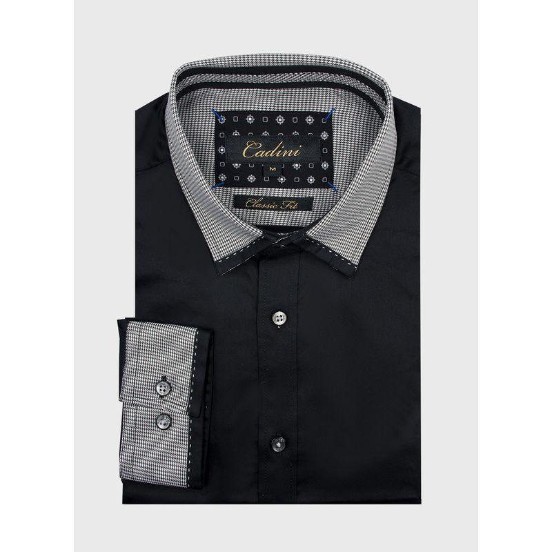 Camisa--Vestir-Color-Negro-Marca-Cadini