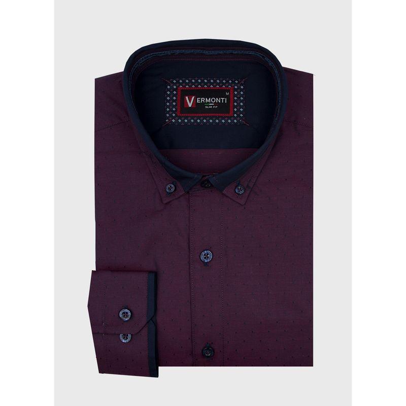 Camisa--Vestir-Color-VinoMarca-Vermonti-Super-Slim-Fit