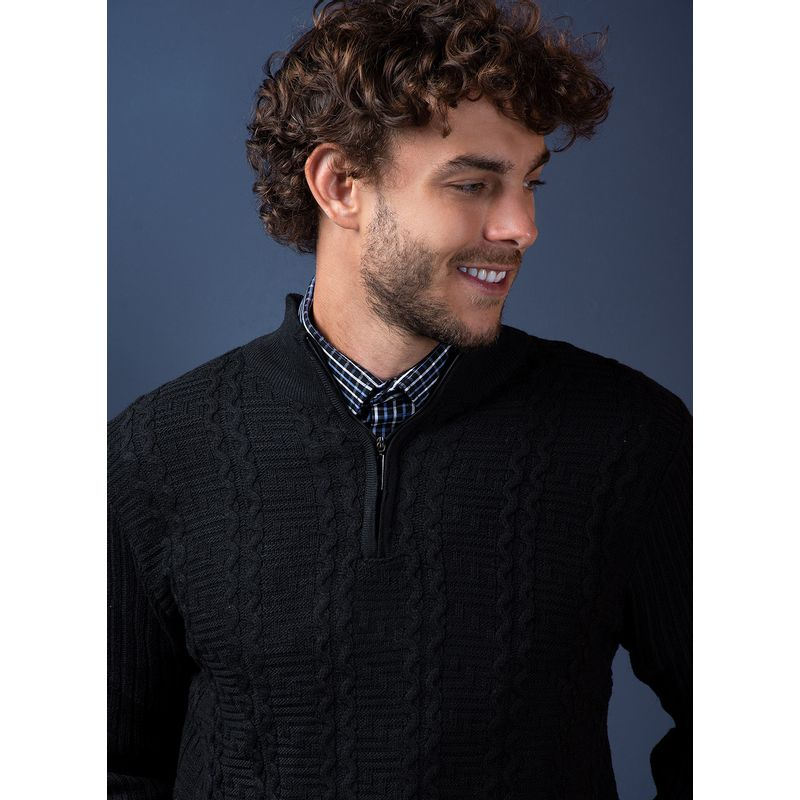 Sweater--Casual-Color-Negro-Marca-Vermonti