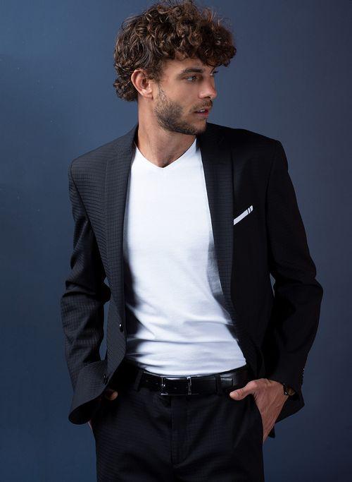 Traje  Vestir Color Negro Marca Aldo Conti Black