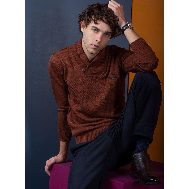 Sweater--Casual-Color-NaranjaMarca-Polo-Club