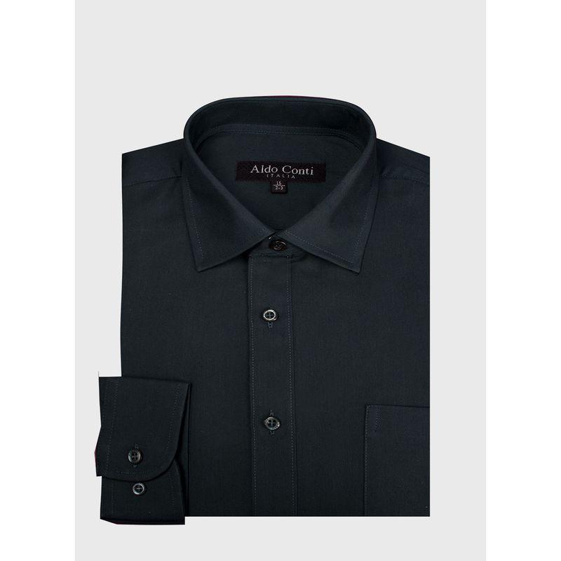Camisa--Vestir-Color-Verde-Marca-Aldo-Conti-Black