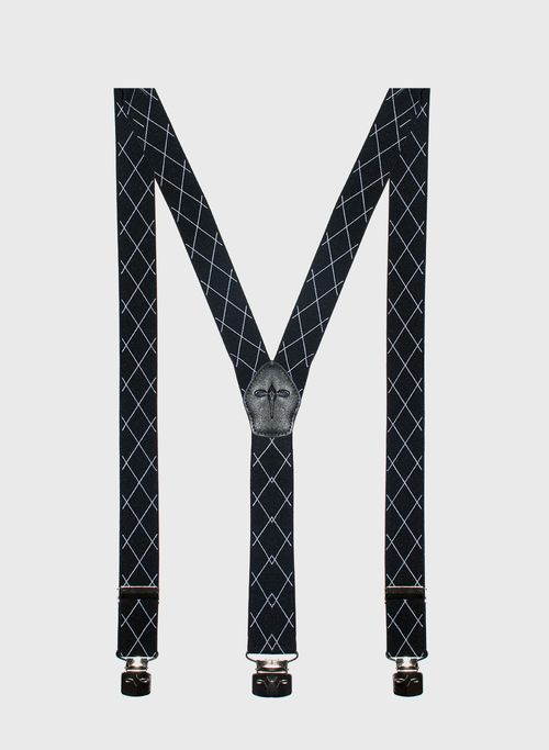 Tirantes  Accesorios Color Negro Marca Argento