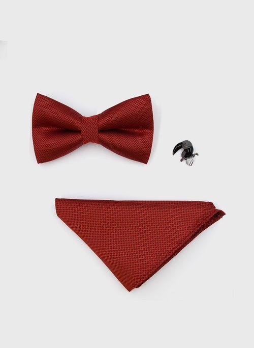 Moño  Accesorios Color Rojo Marca Argento