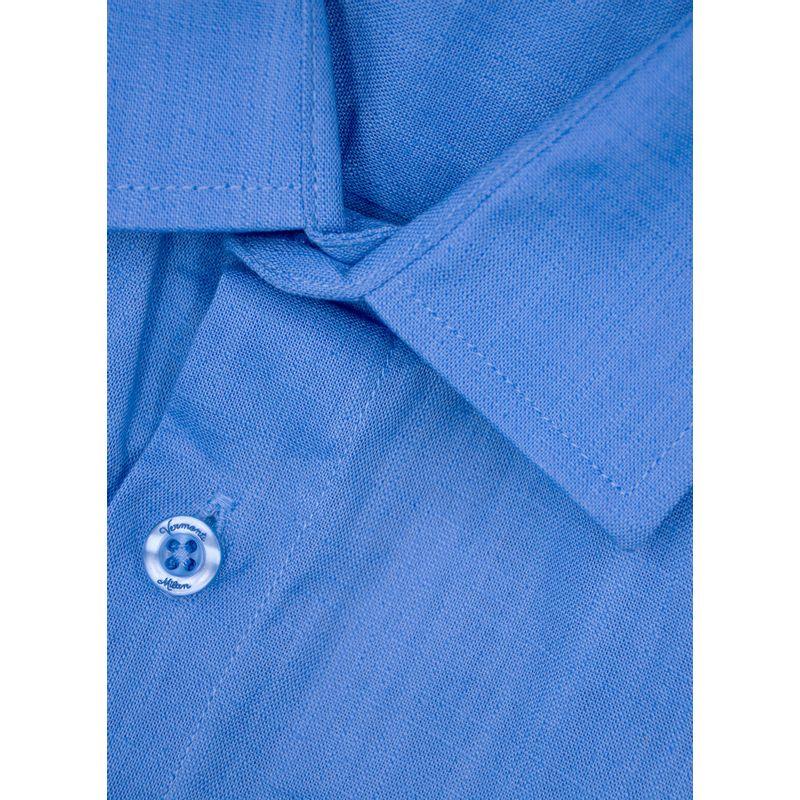 Guayabera--Casual-Color-Azul-Marca-Vermonti