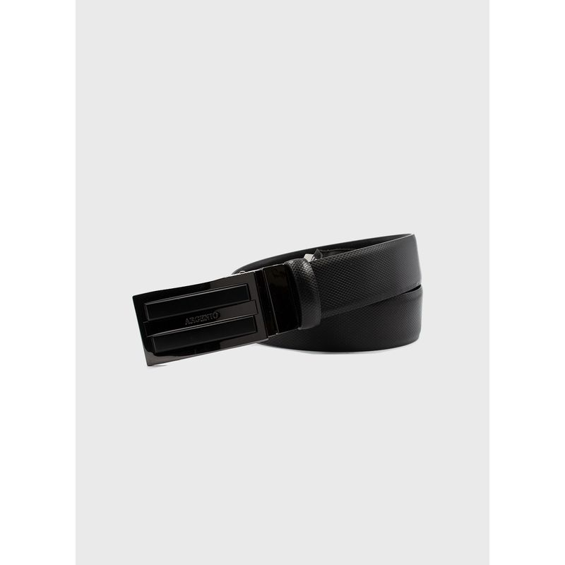Cinturon--Accesorios-Color-Negro-Marca-Argento.-Composicion---100--PIEL-VACUNO