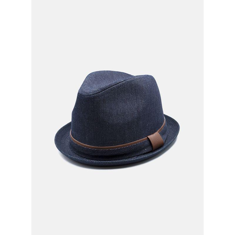 Sombrero--Accesorios-Color-Marino-Marca-Argento.-Composicion---100-PAPEL