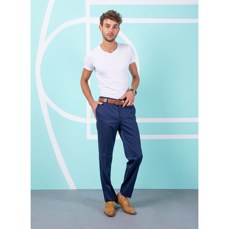 Pantalon--Vestir-Color-Azul-Marca-Aldo-Conti-Black.-Composicion---