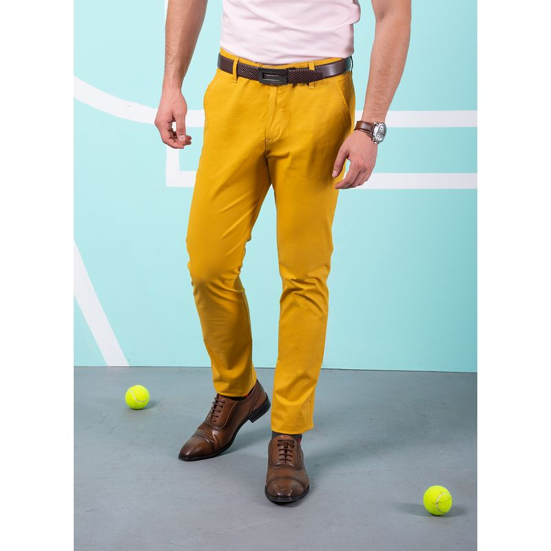 Pantalon--Casual-Color-MostazaMarca-Aldo-Conti-Lexus.-Composicion---