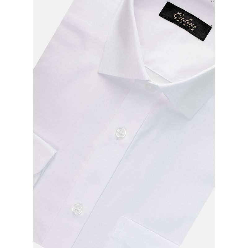Camisa--Vestir-Color-Blanco-Marca-Cadini-Premium.-Composicion---60-ALGODON-40-POLIESTER