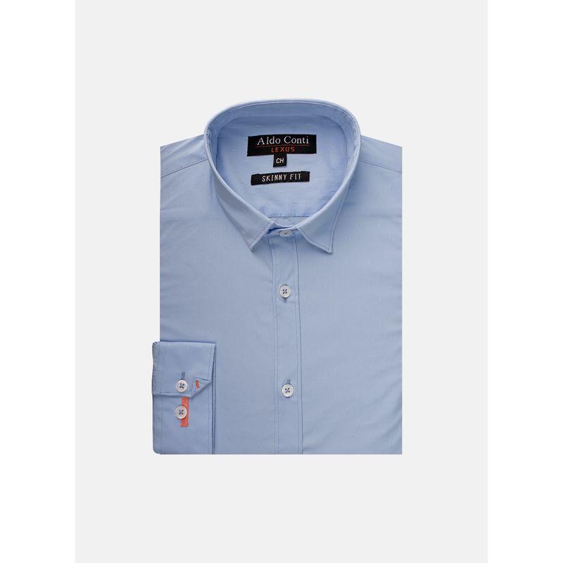 Camisa--Vestir-Color-Cielo-Marca-Aldo-Conti-Lexus.-Composicion---