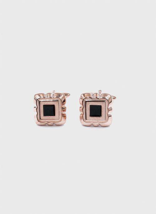 Mancuerni  Accesorios Color Rosa Marca Aldo Conti. Composición:  100%METAL
