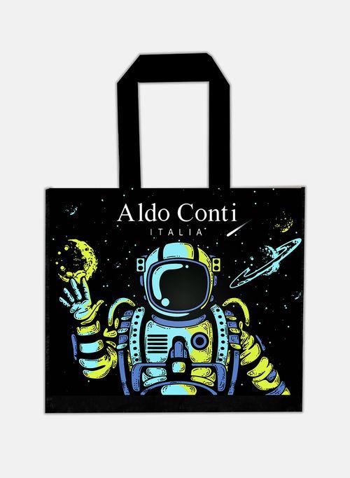 Bolsa  Color Negro Aldo Conti Grande