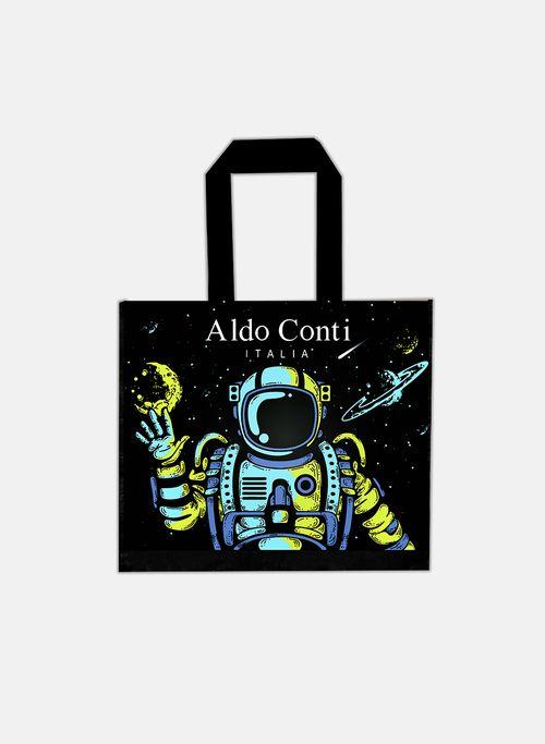 Bolsa  Color Negro Aldo Conti Chica