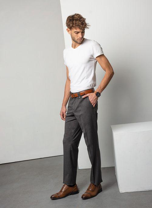 Pantalon  Vestir Color Negro Marca Aldo Conti Black. Composición:  68% POLIESTER 32% VISCOSA