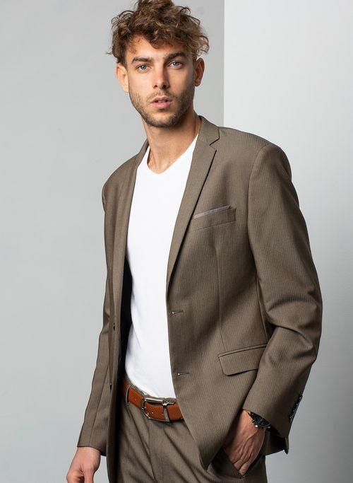 Traje  Vestir Color Beige Marca Aldo Conti Black. Composición:  69%POLI 30%VISCO 1%SPANDEX