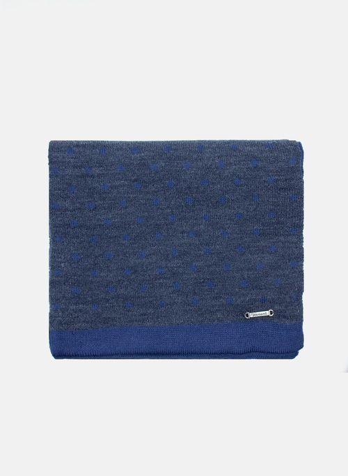 Bufanda  Accesorios Color Azul Marca Vermonti. Composición: