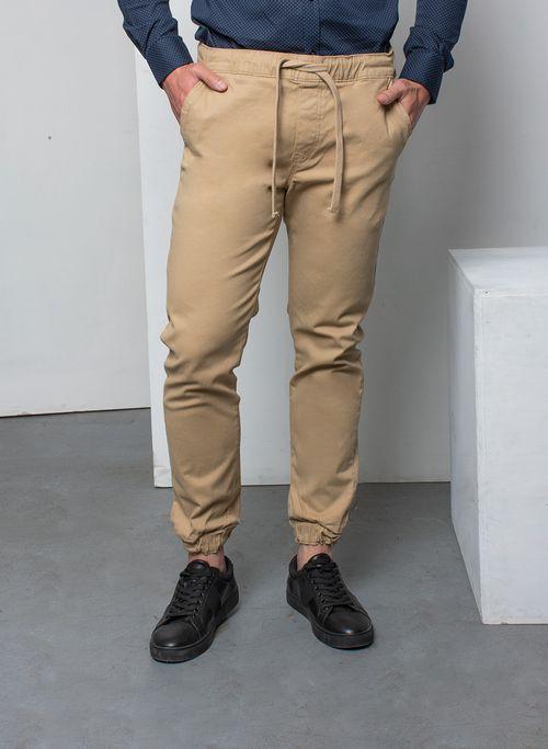 Pantalon  Casual Color Khaki Marca Aldo Conti Lexus. Composición: