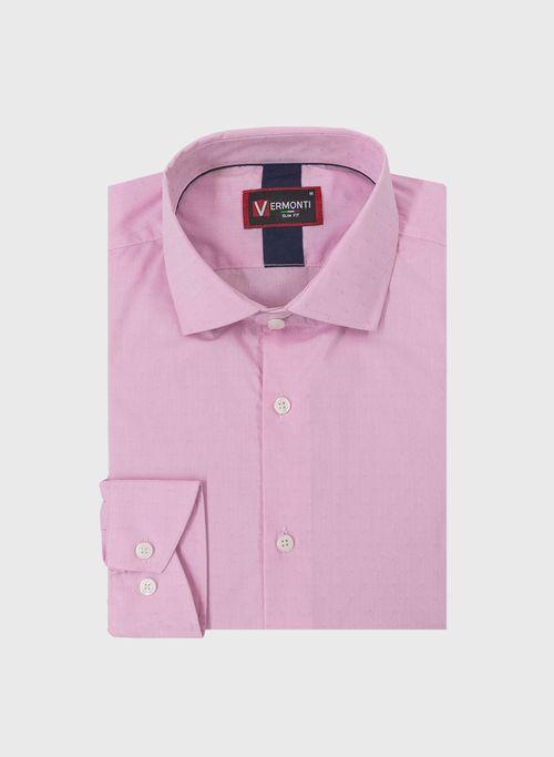 Camisa, Rosa, Slim Fit, Marca Vermonti