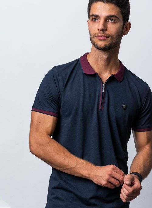 POLO, MARINO, SLIM FIT, MARCA VERMONTI