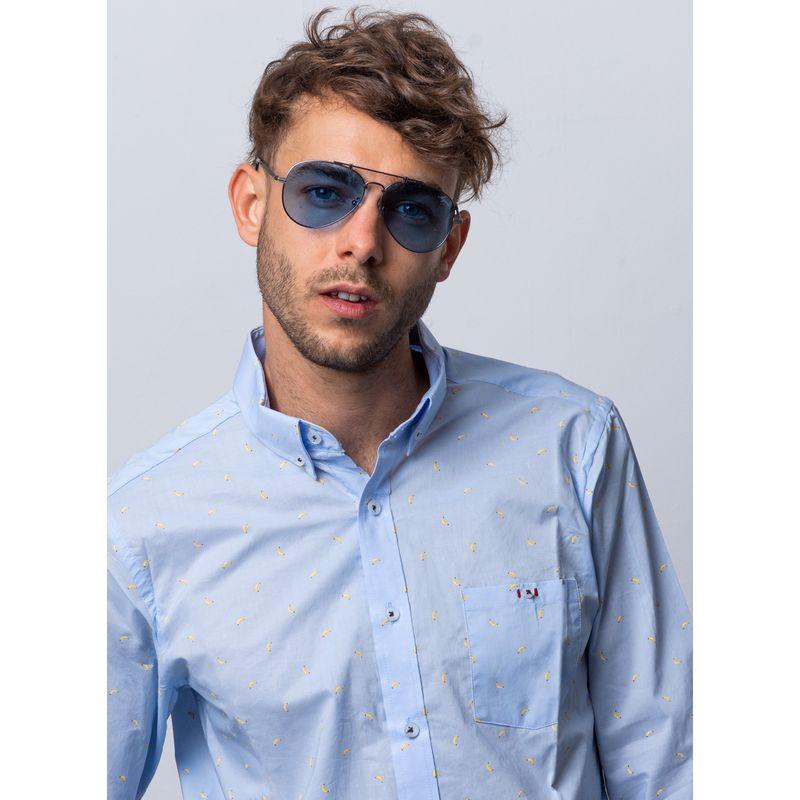Camisa-Casual-Color-Azul-Marca-Vermonti.-Composicion-