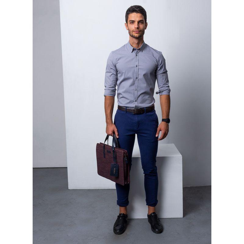 Camisa-Vestir-Color-Gris-Marca-Aldo-Conti-Lexus.-Composicion-